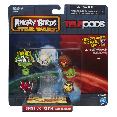 Angry Birds Star Wars Telepods Jedi Vs. Sith Multi-Pack