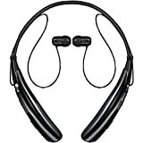 LG Electronics Tone Pro Bluetooth Stereo Headset - Retail Packaging - Black HBS-750