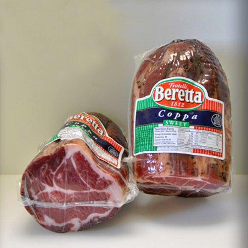 Coppa Ham by Beretta - Hot (1 pound) (Hot Coppa compare prices)