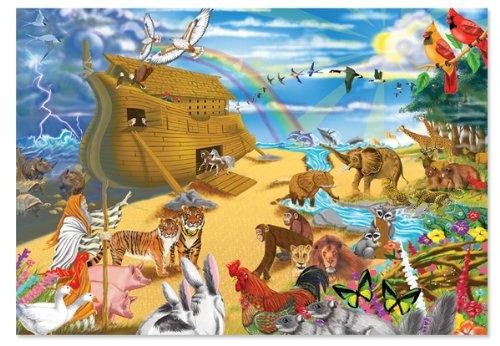 Melissa & Doug Noah's Ark Jigsaw Puzzle, 200-Piece