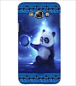 PrintDhaba Cute Panda D-3621 Back Case Cover for SAMSUNG GALAXY GRAND MAX (Multi-Coloured)