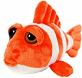 11 Ringer Clown Fish Soft Baby Toy Plush Beanie Lil Peepers
