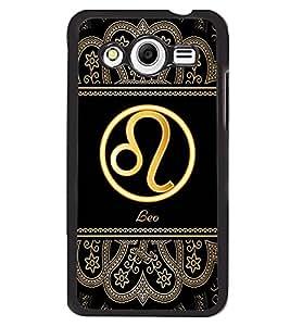 Printvisa 2D Printed Sunsign Leo Designer back case cover for Samsung Galaxy Core 2 G355H- D4337