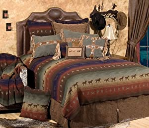 Wooded River WDSK57 114 by 98-Inch Super King Bedspread
