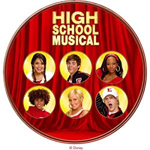 Dekoback Tortenaufleger High School Musical Fotos, 1er Pack (1 x 11 g