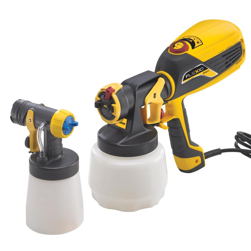 Wagner 0529010 Flexio 590 Indoor Outdoor Hand Held Sprayer Kit Lawn And Garden