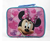 Disney Minnie Mouse Pink Insulated Lunch Bag Box