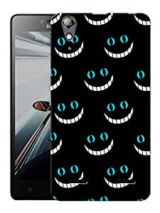 "Humor Gang Wonder Smiley Pattern Printed Designer Mobile Back Cover For ""Lenovo A6000 - A6000 PLUS"" (3D, Matte, Premium Quality Snap On Case)"