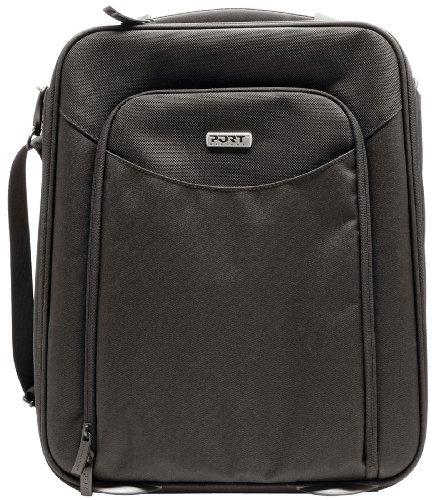 Port Designs Stuttgart Black 12 To 13.3 Inch Lightweight Laptop Backpack