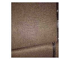 Grasim Men's Polyblend Brown 3M Suit Fabric