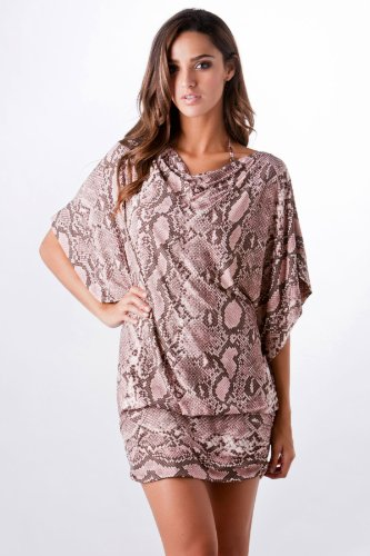 Michael Kors King Python Tunic