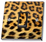 Leopard Print Pattern Light Switch St...