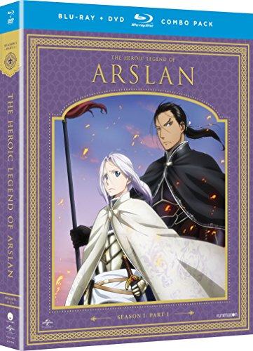 The Heroic Legend of Arslan: Season One, Part One (Blu-ray/DVD Combo)-ray]