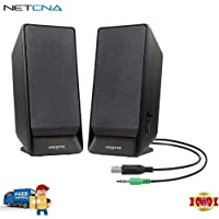 Creative A50 USB-Powered 2.0 Desktop Speakers And Free 6 Feet Netcna HDMI Cable - By NETCNA
