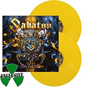 SABATON, Swedish empire live YELLOW VINYL - 2LP