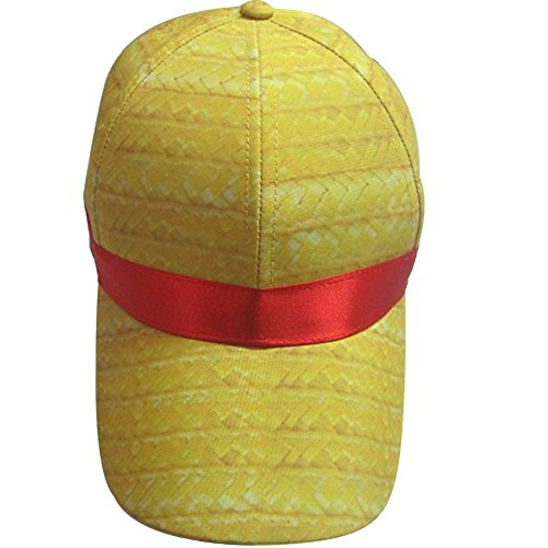 eYourlife2012 Custome One Piece Luffy Cosplay Sun Hat Straw Visor Peaked Cap