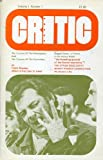 Critic Magazine (Volume 1, Number 1)