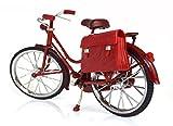 (Fun Market) レトロ アンティーク 風 自転車 1/6 ドール 撮影 バービー リカちゃん ドルフィー ブライス SD DD… (2.レッド+撮影グッズ, 自転車)