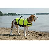 Paws Aboard Neon Yellow Doggy Life Jacket