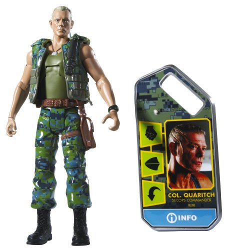 Avatar Movie Masters Colonel Miles Quatrich Figure