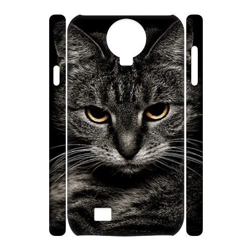 Alicase Diy Case Lovely Cat Cover For Samsung Galaxy S4 I9500 [Pattern-2] front-1002316
