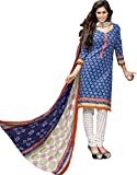 BAPUJI PRINT - WOMEN'S COTTON UNSTITCH DRESS MATERIALS - SE - 027