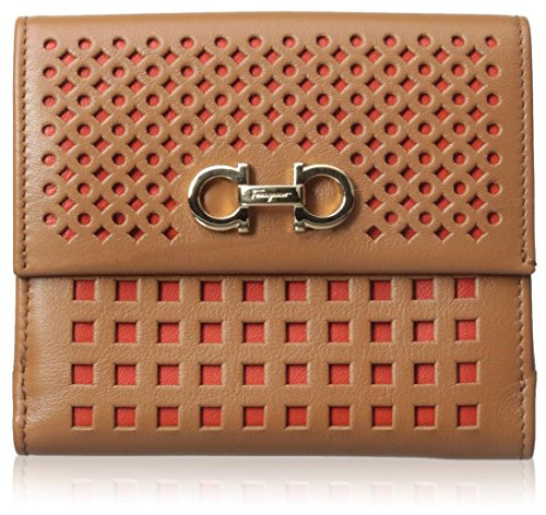 Salvatore-Ferragamo-Womens-Leather-Wallet-TanPink