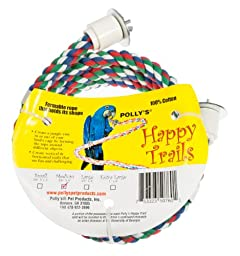 Polly\'s Happy Trails Bird Perch, Medium