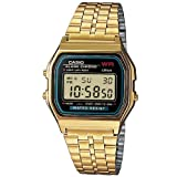 Casio A159wgea-1ef Watch - Gold