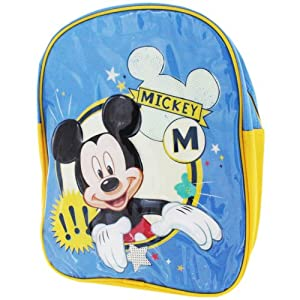 DISNEY MICKEY MOUSE JUNIOR BACKPACK - BLUE