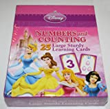 Disney Princess Numbers & Counting Large Sturdy Learning Cards