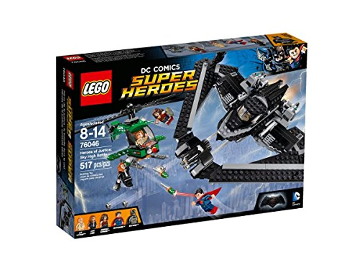[해외] 레고 (LEGO) 슈퍼히어로즈 정의의 히어로:스카이 하이 배틀 76046-76046 (2016-01-15)