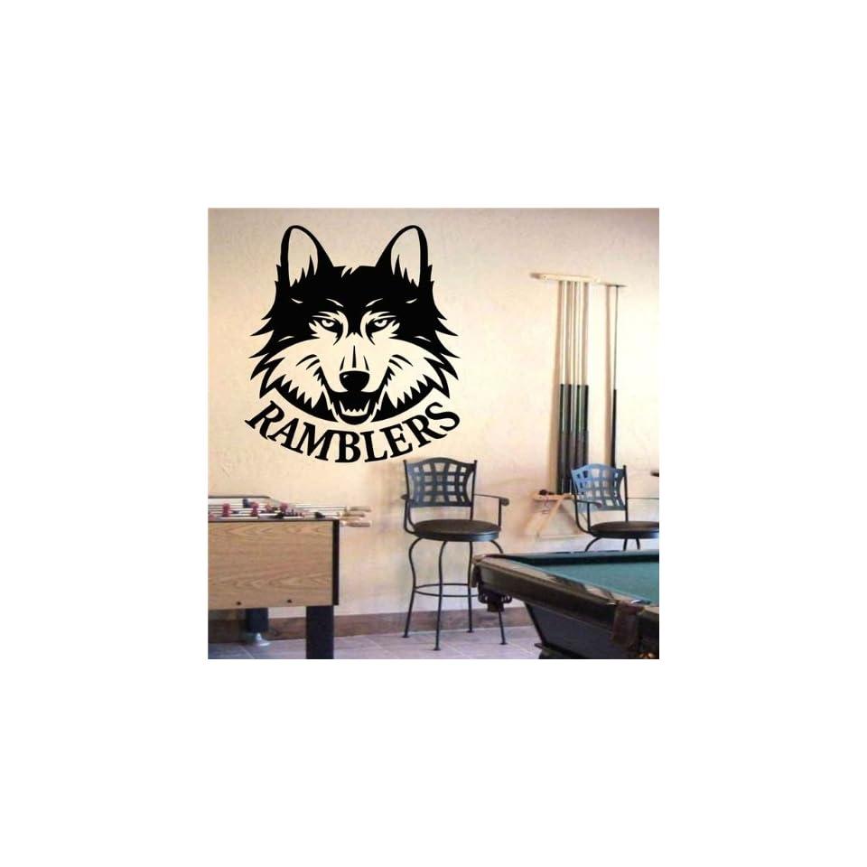 Ncaa Wall Mural Vinyl Sticker Sports Logos Loyola chicago Ramblers (S364)