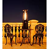 Lava-Heat-Italia-Outdoor-Patio-Propane-Tabletop-Propane-Heater-with-11000-BTU-Output-with-Adjustable-Flame-Heritage-Bronze-Finish