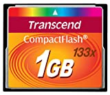 Transcend 1GB 133X CompactFlash Card Picture