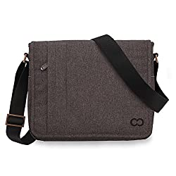 Microsoft Surface Pro 4 Messenger Bag, CaseCrown Campus Messenger Bag (Brown)