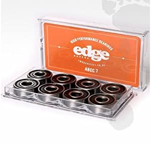 8 x ABEC 7 or 9 BEARINGS for skateboard edge cruiser 608 by TWO BARE FEET