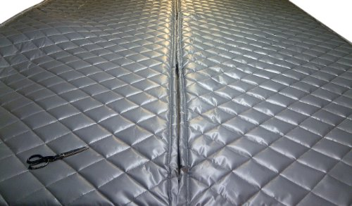 "Singer Safety Double Faced Quilted Fiberglass Panel, 4' Width X 8' Height X 2"" Thick"