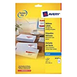 Avery J8160-25 - Inkjet Address Labels 63.5x38.1mm J8160-25 (525Labels)