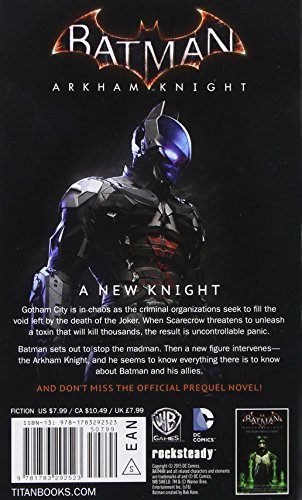 Batman Arkham Knight Offic Novelization Mmpb (Batman Arkman Knight)