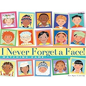 Click to read our review of I Never Forget a Face Memory Game!