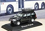1:43 Nissan Patrol Black Color Car Model Car Diecast Car Toy Vehicles