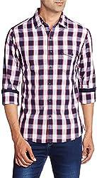 East West Men's Casual Shirt (EW-POP-013_40)