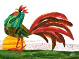 Oopsy Daisy Eric Carle's Rooster Stretched Canvas Wall Art, 24 by 18-Inch