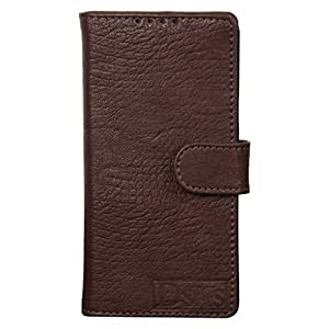 Dsas Artificial Leather Wallet Flip Cover designed for Microsoft Lumia 640