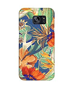 Pick Pattern Back Cover for Samsung Galaxy S7 Edge (MATTE)
