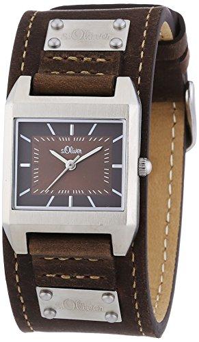s.Oliver Damen-Armbanduhr Quarz Analog SO-2164-LQ