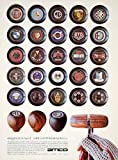 1970 Ad Amco Car Shift Knob 7425 Fulton Ave N Hollywood CA Auto Insignia Emblem - Original Print Ad