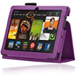 Bestwe Kindle Fire HDX 7 Case Pu Leat...