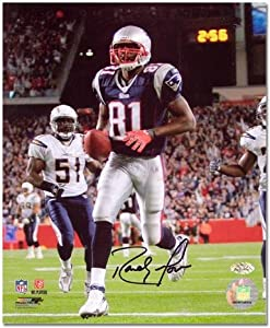 "Randy Moss New England Patriots 23 Touchdown Record Autographed 8"" x 10"" Photograph - Fanatics Authentic Certified"